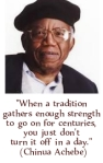 Chinua Achebe: African Literature Author
